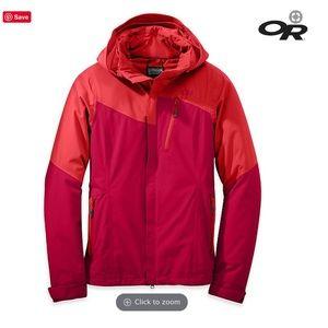 Women's outdoor research XL ski jacket